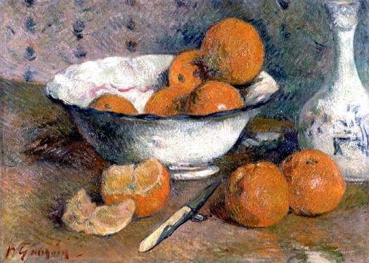 Nature morte aux oranges - Gauguin Paul
